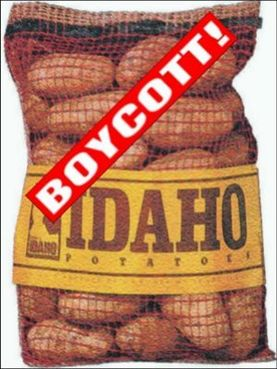 boycott idaho potatoes