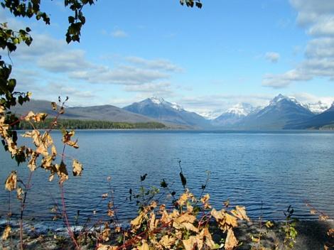 glacier in autumn 09