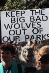 anti wolf sign