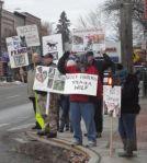 NIWA Protest Against WolfHunts