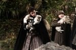 Robb and Bran with Dire Wolf Pups Fanpop