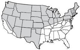 Gray Wolf Historic Range