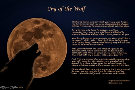 Cry of the Wolf Francene Stonebraker