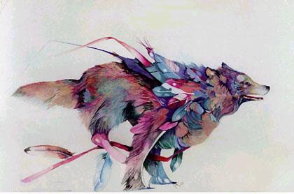 dream-wolf Stephen Capra
