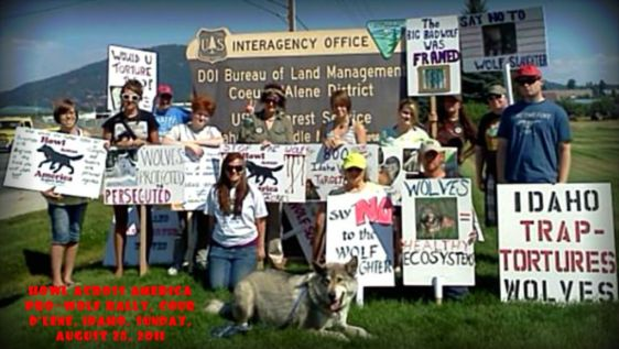 Howl Across America Protest Rally August 20_2011