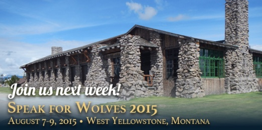 Speak for Wolves 2nd annual Aug 2015
